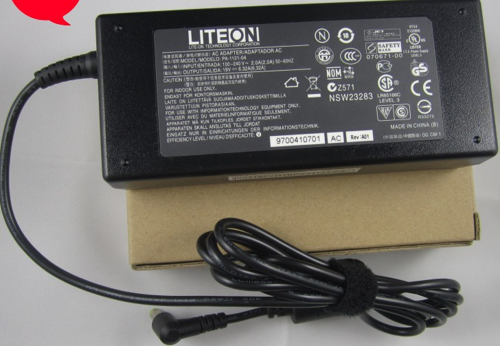 120W Acer aspire 7745 AS7745 ac adapter Delta ADP-120ZB(BB)