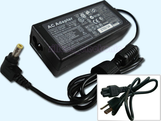 AC Power Adapter Cord for Gateway M-Series M-6827 M6827