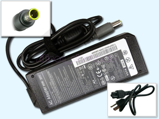 90W AC Adapter Charger for IBM Lenovo ThinkPad R400 R500