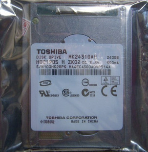 Toshiba MK2431GAH 1.8 240GB PATA ZIF HDD Hard Disk Drive