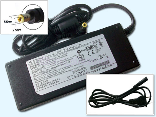 78W AC Adapter for Panasonic ToughBook CF-50 CF-73 CF-AA1653A