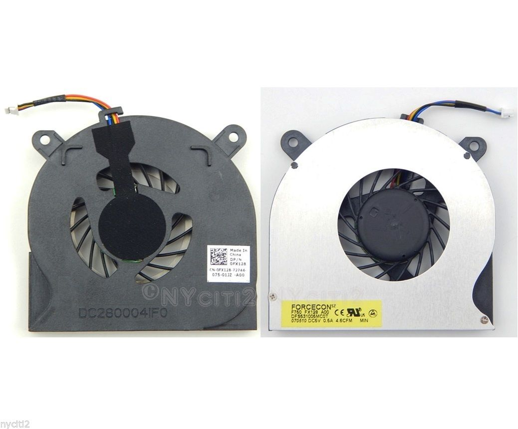 CPU Fan Compatible to FX128 0FX128 ZB0506PFV1-6A UDQFRZH08CCM fo