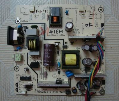 Genuine Asus VH232D Power Supply Board 715G2824-2-VOC