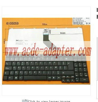 For Lenovo G550 G550A G550M 25-008409 US keyboard