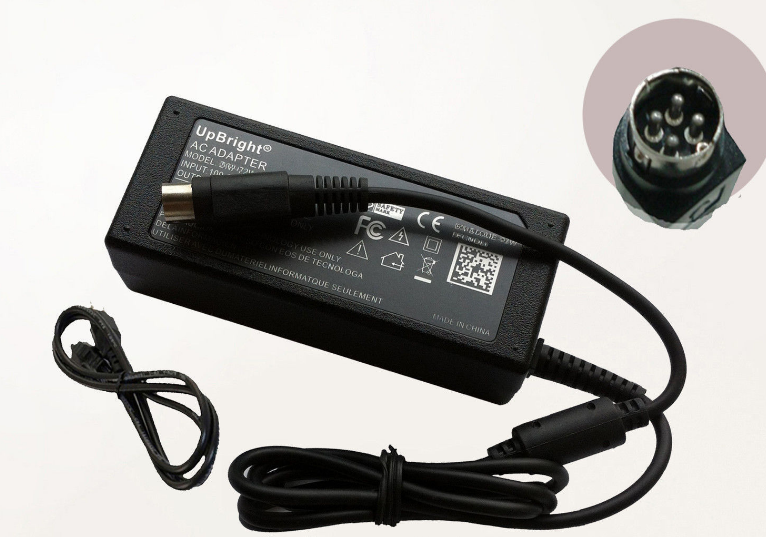 +/-18V 1A 4-Pin DIN NEW AC/DC Adapter For Klipsch PS20 iGroove HG iPod dock