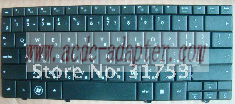 NEW HP Mini 110 CQ10 Russian Black keyboard 533551-251 535689-25