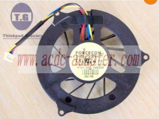 FORCECON DFS541305MH0T F7B1 DC5V 0.5A 4PINS CPU FAN NEW