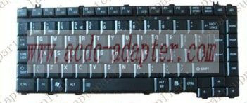 Genuine New Laptop Keyboard for Toshiba Satellite L300-2CP UK