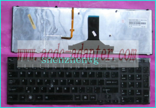 New toshiba Satellite NSK-TQ0BC 9Z.N4YBC.001 US keyboard Blackli