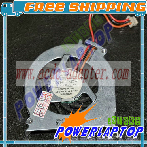 Fan For FUJITSU LifeBook S2020 S6110 S6120 S6130 S7010 T3010