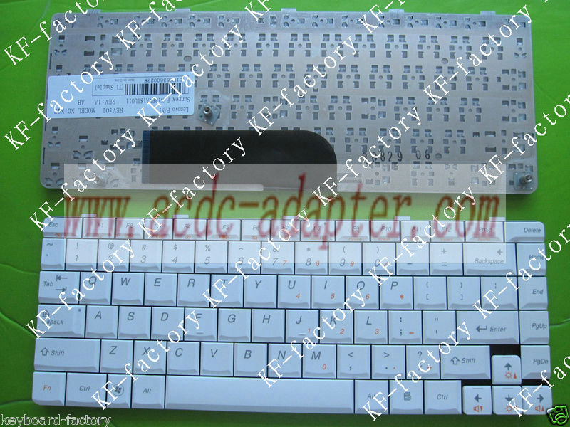 NEW Genuine Lenovo Ideapad U350 US White keyboard