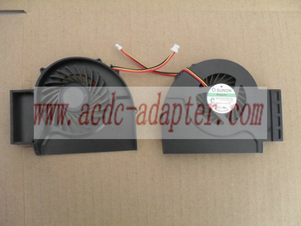 NEW IBM LENOVO T510 W510 CPU Cooling Fan GC055010VH-A