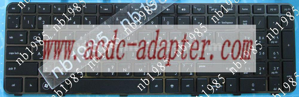 HP Pavilion DV6-6000 DV6-6100 Arabic keyboard