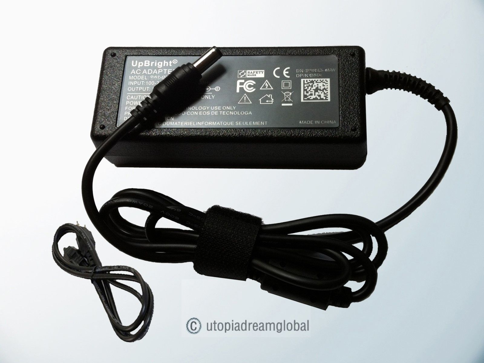 AC Adapter For Lenovo ThinkCentre M72e Desktop PC MT-M 4004 B8U