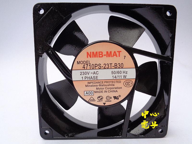 New NMB 4710PS-23T-B30 12cm12025 230V fan 14/11W120*120*38MM