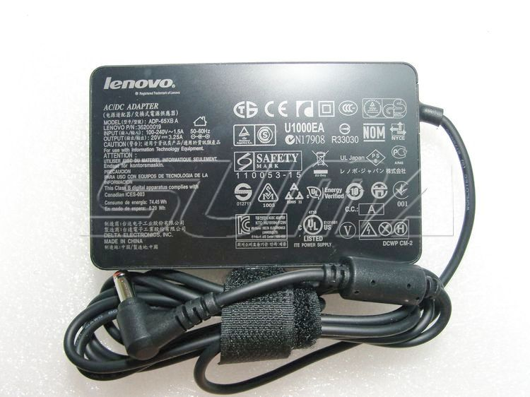 20V 3.25A Lenovo G530 G550 G555 G560 AC power Adapter charger